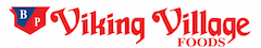 A theme logo of Viking Village